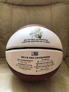 Golden State Warriors Champions 2018 Commemorative Basketball Spalding Curry Durant