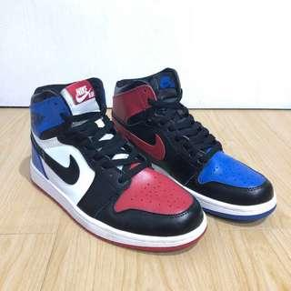 Sepatu Basket Sneakers Air Jordan 1 / AJ1 - Top Three