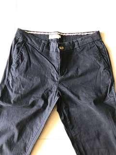 INDUSTRIE Navy Blue Pants