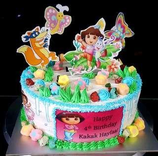 🚚 Dora cake