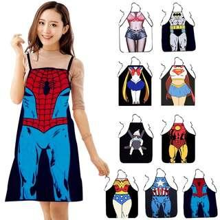 Funny Sexy Waterproof Chef BBQ Kitchen Cooking Women Men Aprons