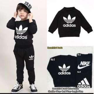 Kids sweatshirt (ready stock)