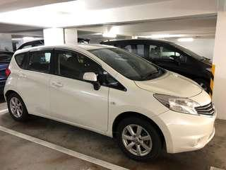 NISSAN NOTE DIG-S GREEN