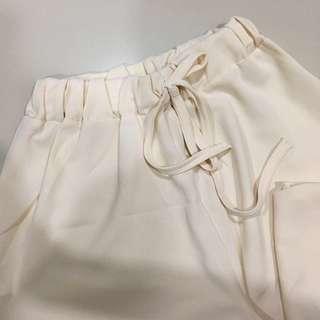 Light beige culotte