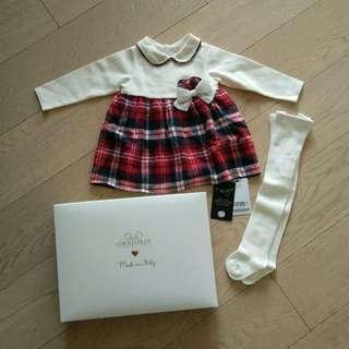 New 全新 chickeeduck 女童裝 size 73