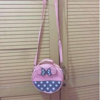 sling bag minie mouse