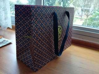 Authentic Tory Burch Paper Bag