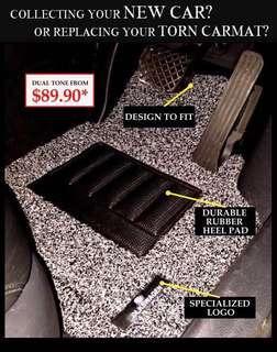 🚚 Dual Tone Car Mat
