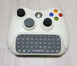 Original Xbox 360 Wireless Controller w Chat Pad - Refurbished