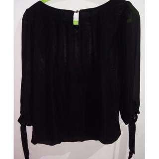 Baju formal hitam