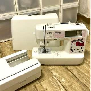 (Used) Brother NV980K - Hello Kitty 2-in-1 Embroidery & Sewing