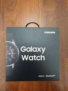 NETT Samsung Galaxy Watch 46mm SILVER