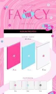 "(GROUP ORDER) TWICE ""FANCY YOU"" 7th Mini Album"