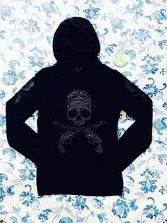 Mastermind Japan X Roar Swarovski 3 logo Hoodie / Parka (黑鑽)