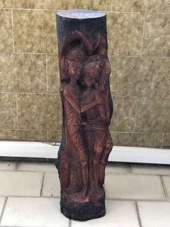 🚚 Wood Sculpture
