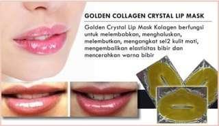Masker collagen bibir