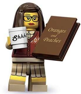 New 71001 Lego minifigures series 10 - Librarian (Sealed)