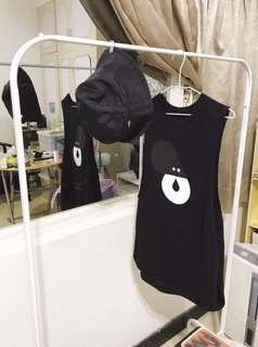 🚚 【原價980元特價800元】0416*1024秋冬首選設計黑色背心