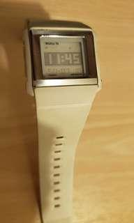 Baby G watch (white)