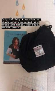 Baby Ktan Size XS Black Activr