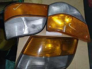 Saab rear and front indicator light 2 sets