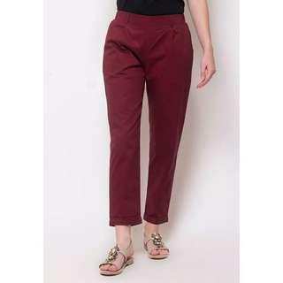 Blanc Maroon Lucy Pants - 100% new with tag!