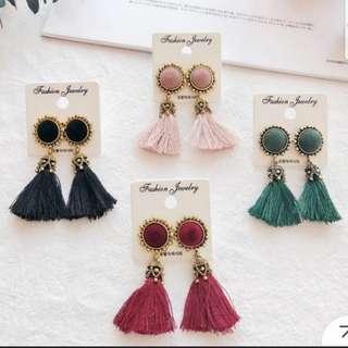 🚚 [INSTOCKS] Bohemian Tassel Earrings