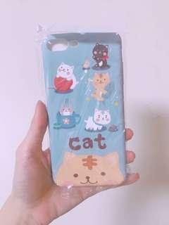 🚚 Iphone7plus iphone8plus 超可愛貓咪手機軟殼