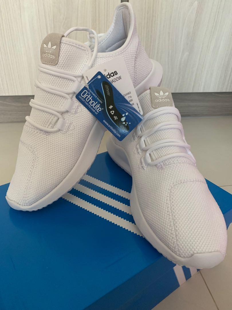 100% authentic b1609 7d112 Adidas Tubular Shadow White, Men's Fashion, Footwear ...
