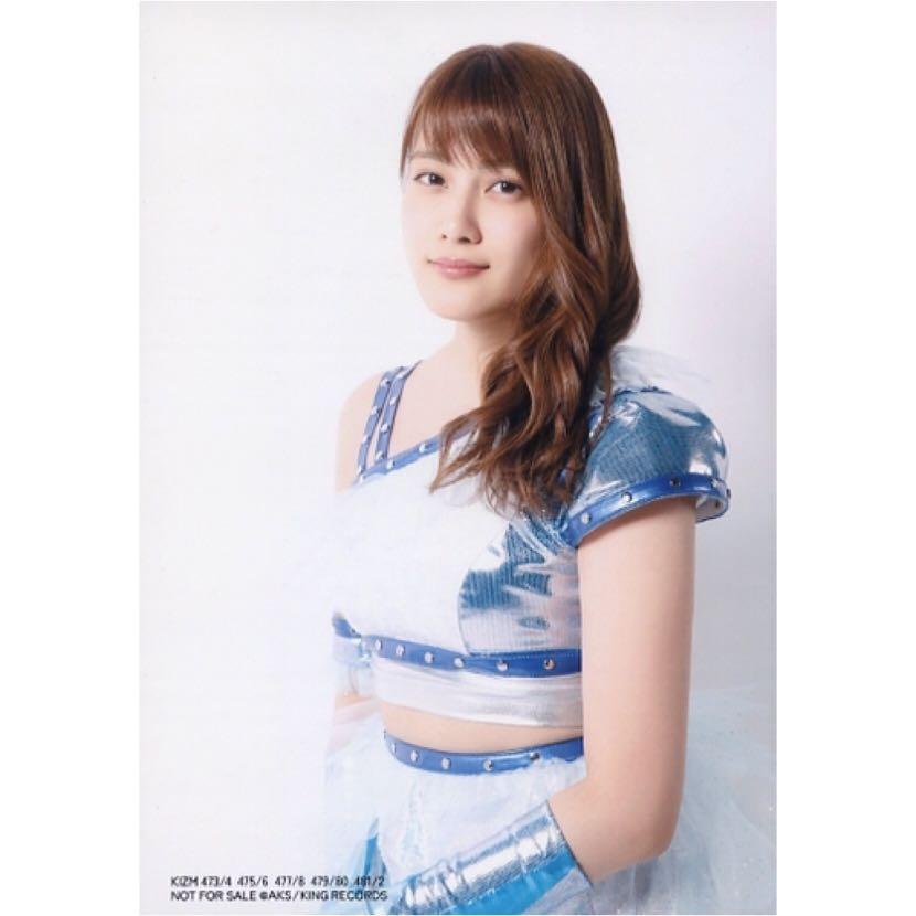 AKB48 入山杏奈 シュートサイン shoot sign 47th 47單 通常盤 內封 封入 生寫真