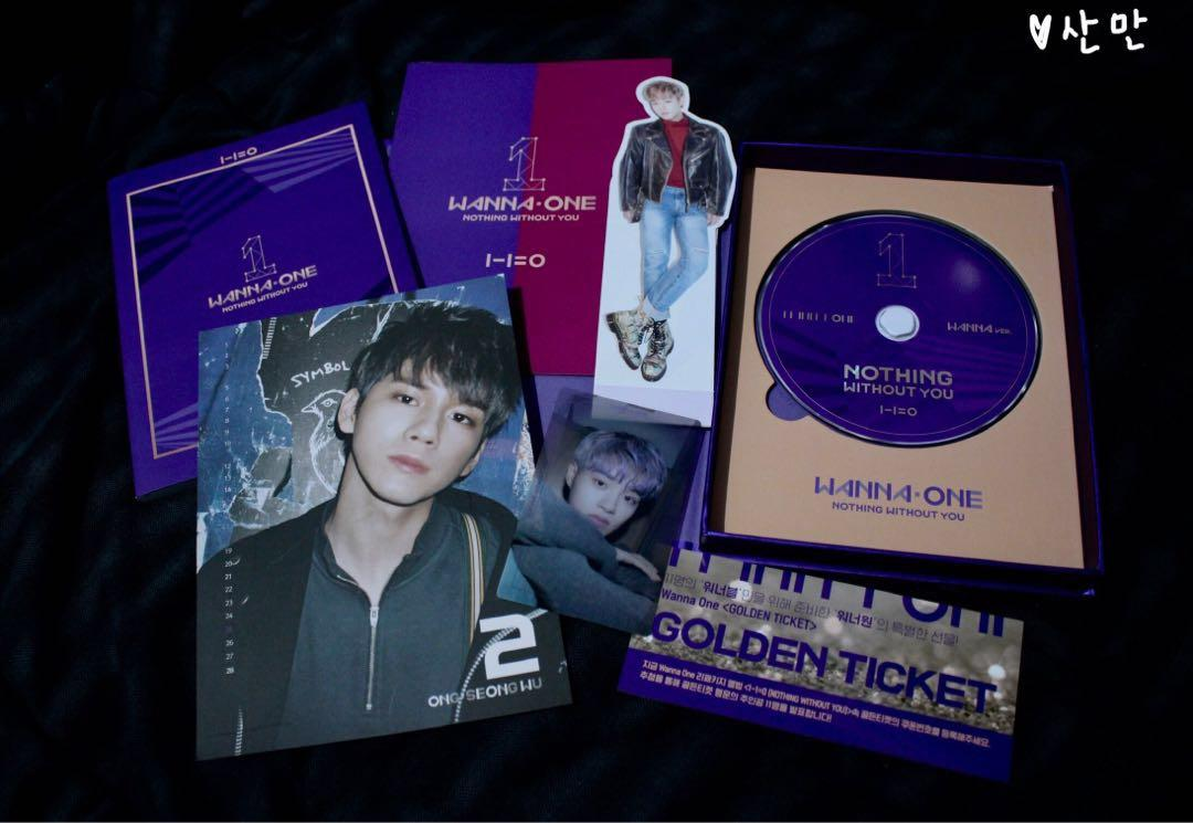 Album Nothing Without You NWY - WannaOne wanna vers