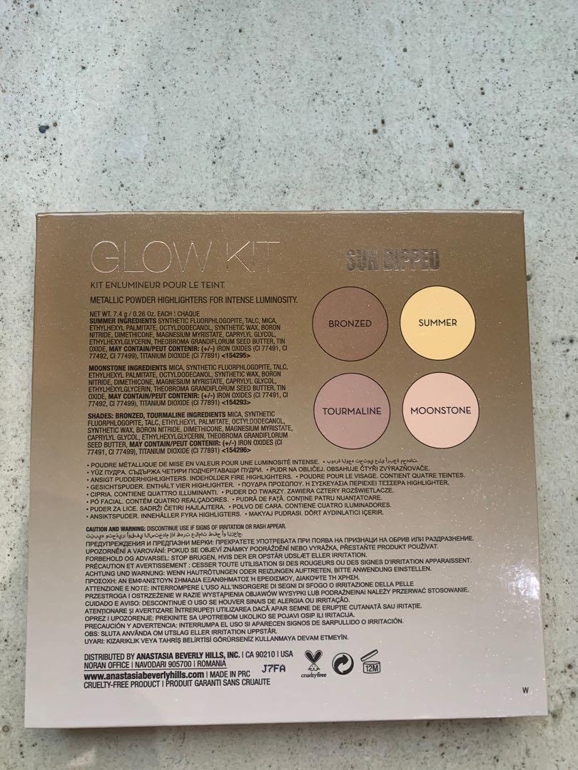 Anastasia Beverly Hills highlighter palette - Sun Dipped