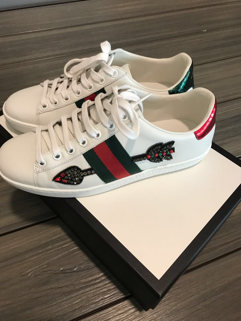 3b3e2380d AUTHENTIC Gucci Sneakers, Women's Fashion, Shoes, Sneakers on Carousell