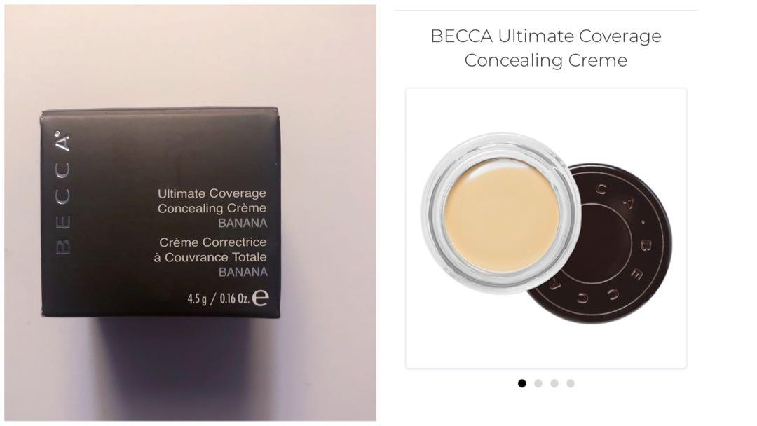 BECCA Ultimate Coverage Concealing Cream Shade Banana