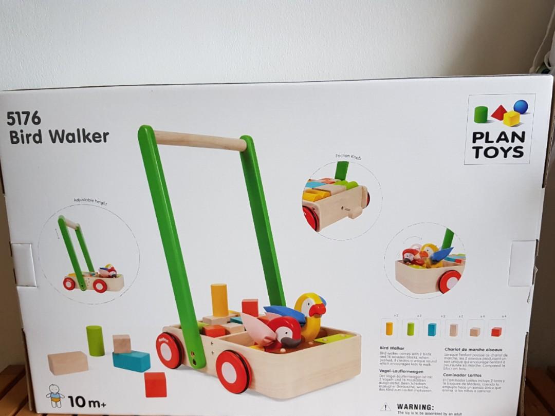 bird walker building blocksplans toy (10-24 mths)