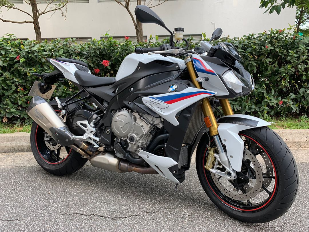 Bmw S1000r Tri Color Edition One Owner Registration Date 31 01