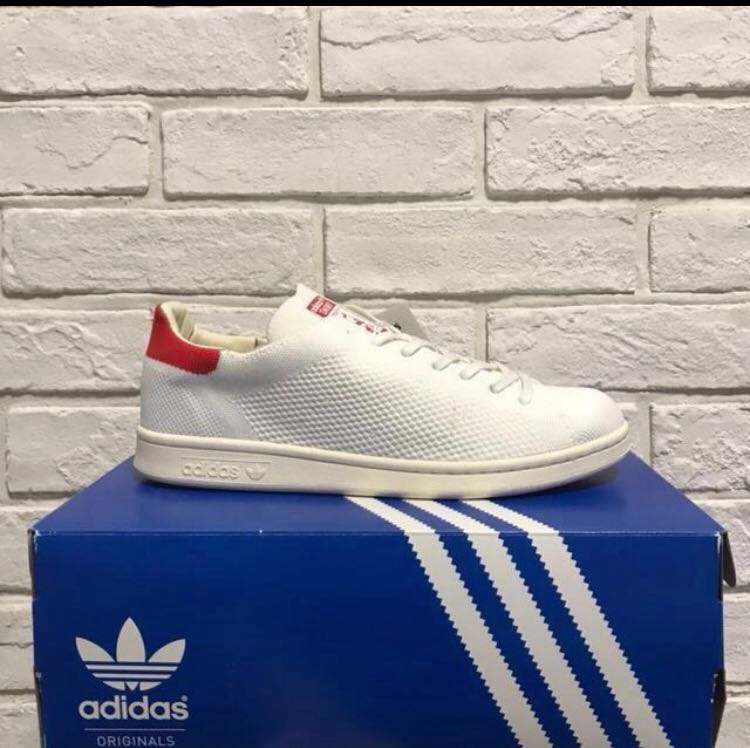 cheap for discount 8f8bc 3bd2f [BNWT] Adidas Stan Smith Primeknit Red