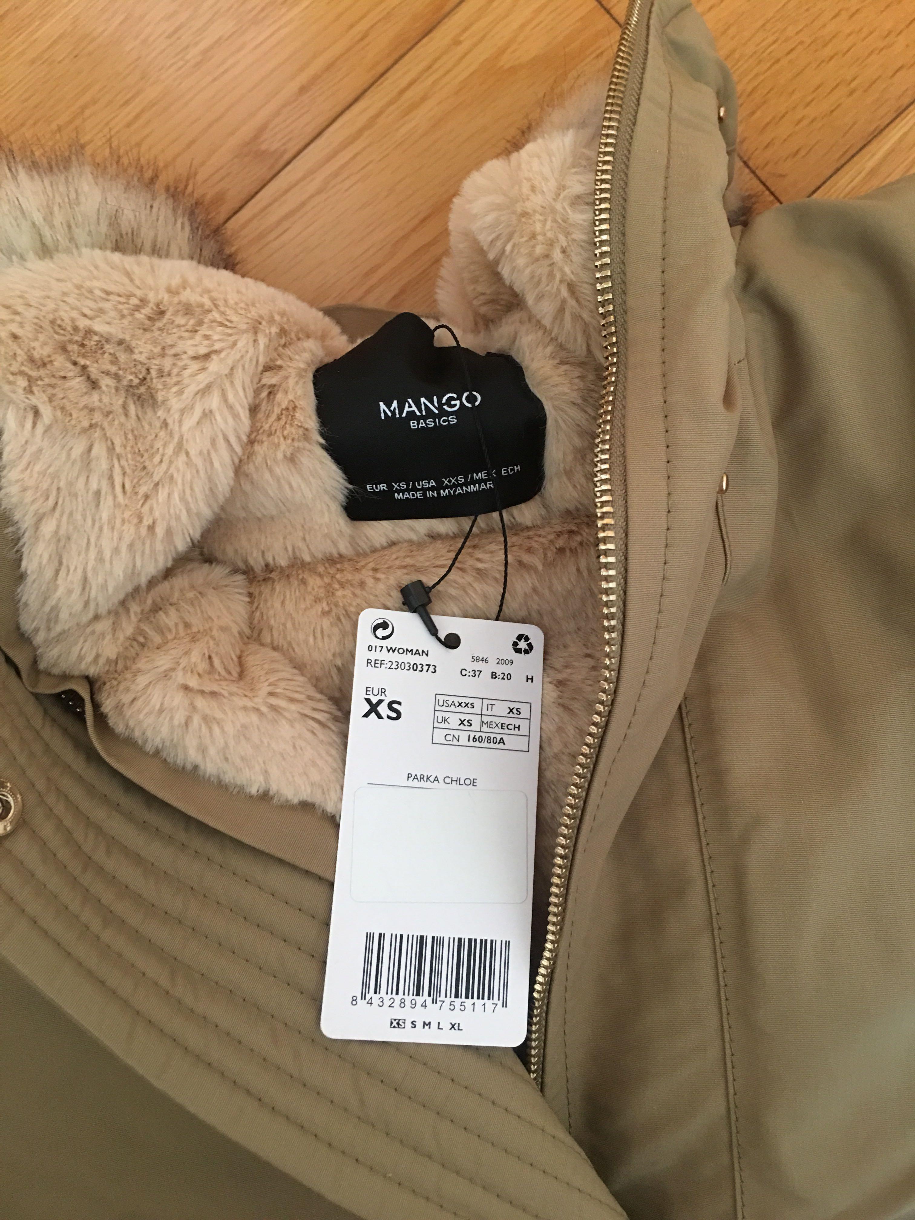 Brand New Faux Fur Winter Jacket 全新毛毛冬天外套