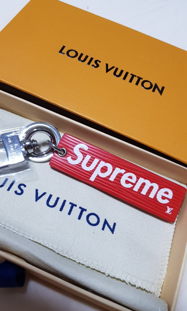 dd5174cd6383 BRAND NEW  Louis Vuitton x Supreme Key Chain