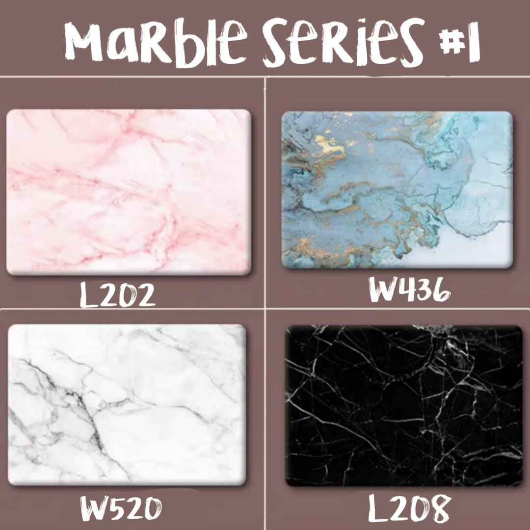 Customised laptop skin sticker decal | Marble series #1