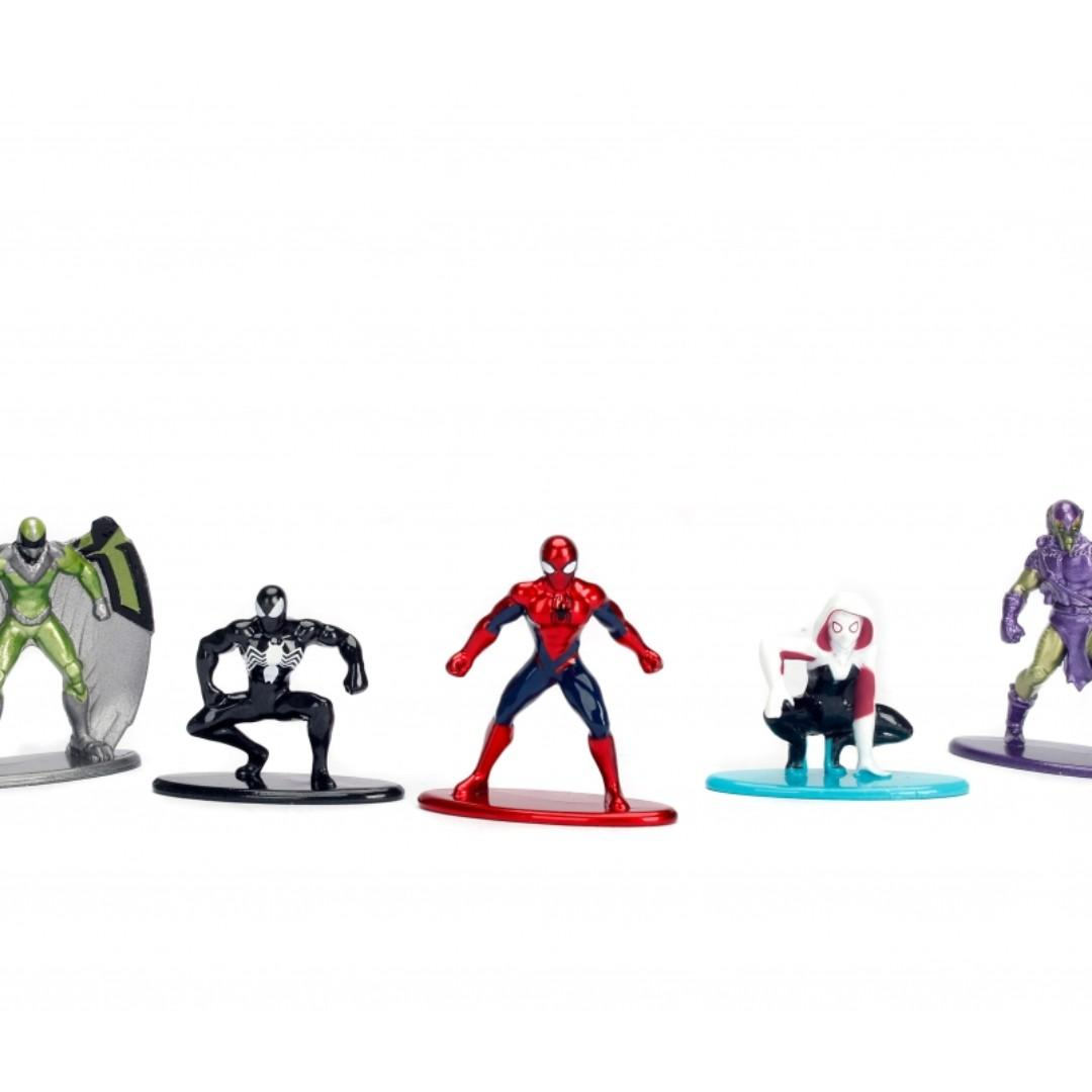 Spider-man Nano Metalfigs (Pack A), Toys & Games, Bricks