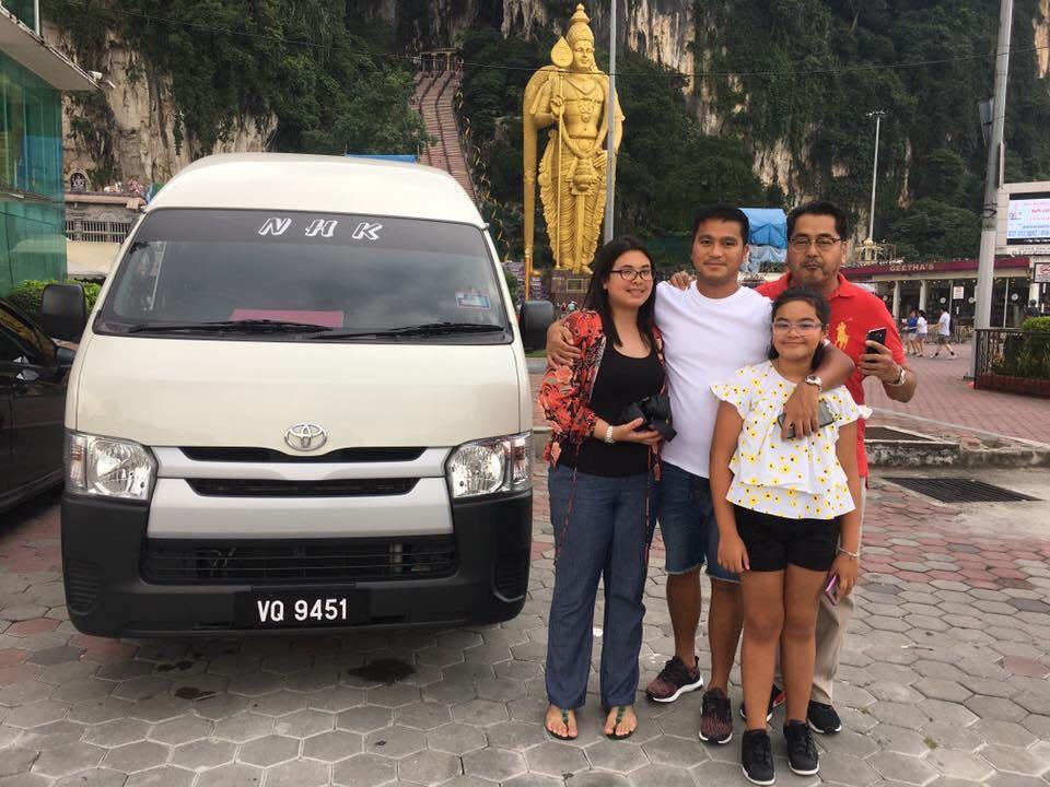 family van / airport van / klia van / van with driver