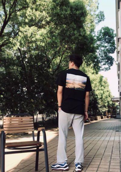 FOG短袖fear of god加州限定相片T-shirt男女同款
