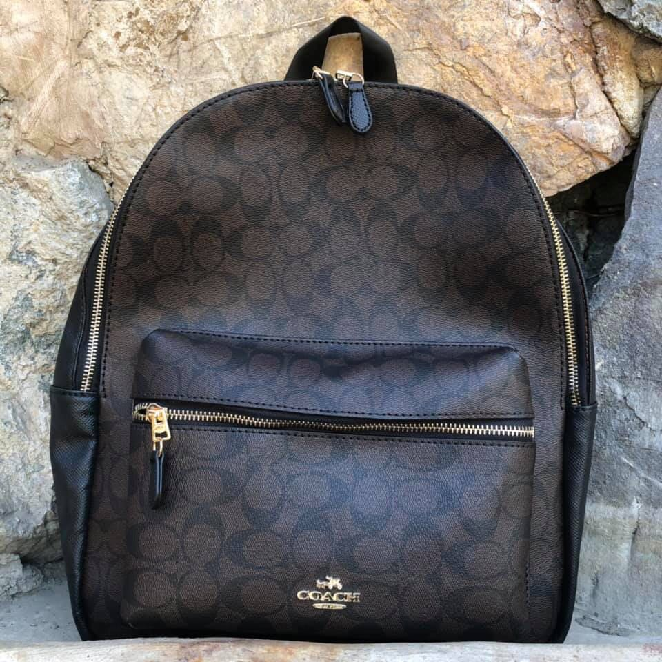 6796b2426a FREE SHIPPING‼ Coach Charlie Backpack, Women's Fashion, Bags & Wallets on  Carousell