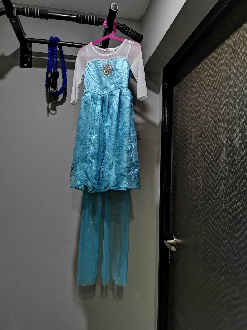 637a04ce926f Frozen Elsa Anna Dress, Babies & Kids, Girls' Apparel, 1 to 3 Years ...