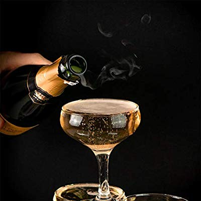afebf2a95e94  HG63  Rink Drink Champagne Glasses Vintage Coupe Glass Saucer – 200ml –  Pack of 6