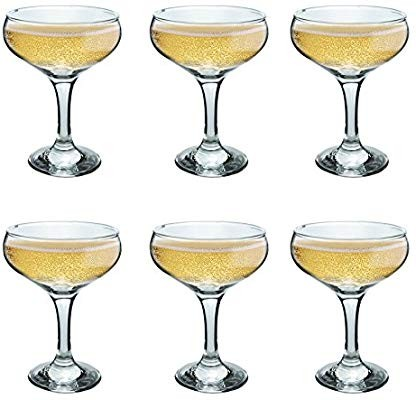 9cea5b16b01e HG63  Rink Drink Champagne Glasses Vintage Coupe Glass Saucer ...