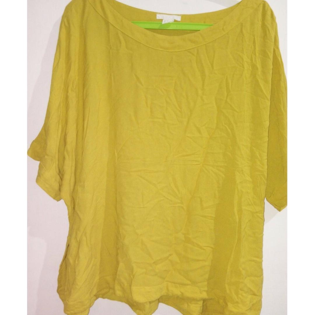H&M atasan kuning