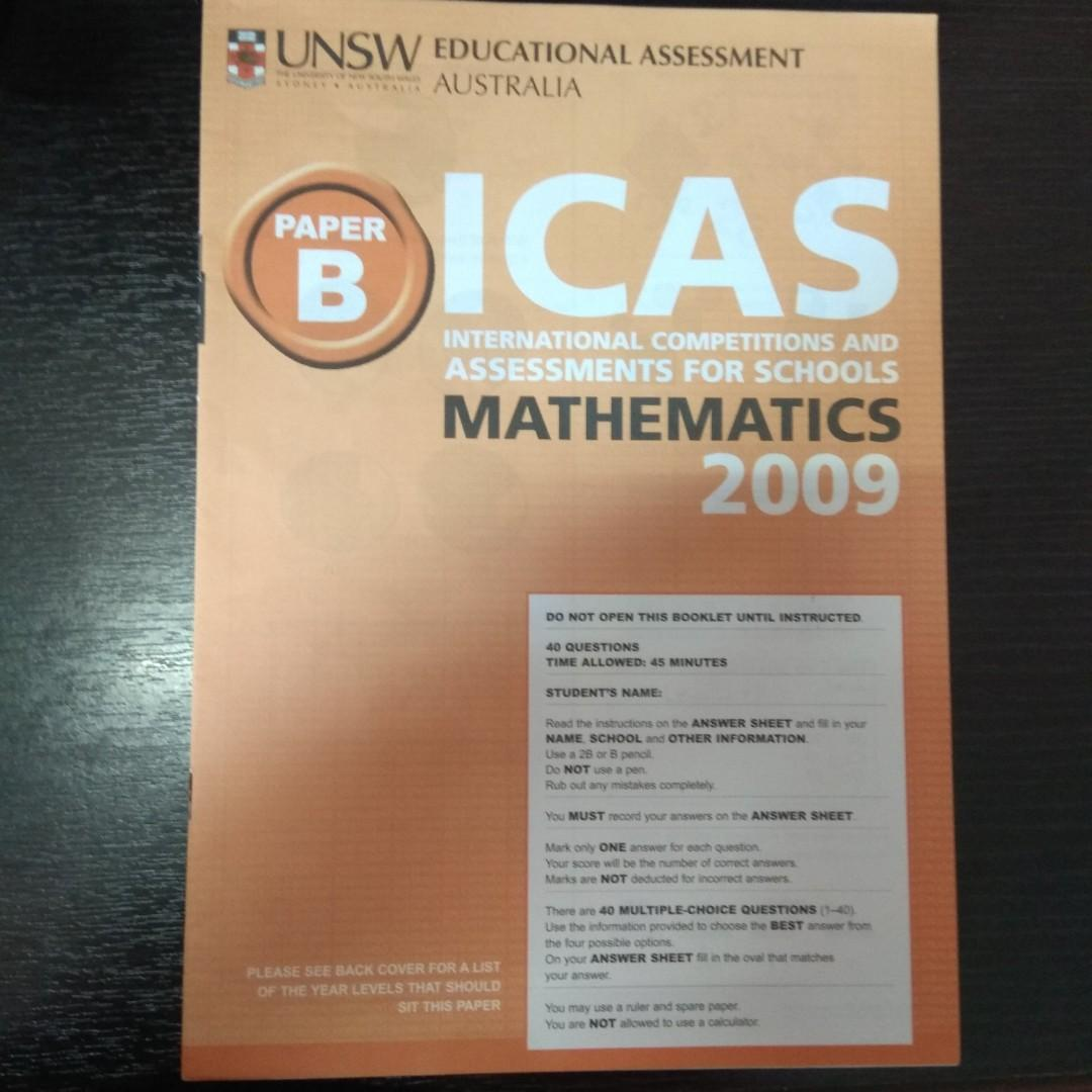 ICAS & NMOS, Books & Stationery, Textbooks, Primary on Carousell