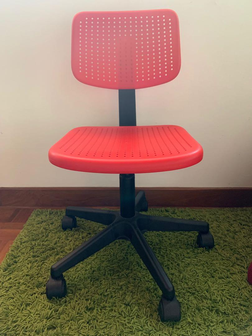 Picture of: Ikea Swivel Desk Chair F Kids Furniture Tables Chairs On Carousell